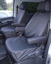 Load image into Gallery viewer, Mercedes Vito Van Black Seat Covers