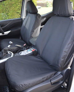 Mercedes X-Class Tailored Black Front Seat Covers
