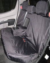 Load image into Gallery viewer, Mitsubishi L200 Double Cab Rear Seat Cover - Black