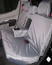 Load image into Gallery viewer, Mitsubishi L200 Double Cab Rear Seat Cover - Grey