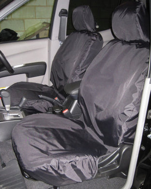 Mitsubishi L200 Seat Covers - Black