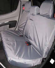 Load image into Gallery viewer, Mitsubishi L200 Grey Rear Seat Cover