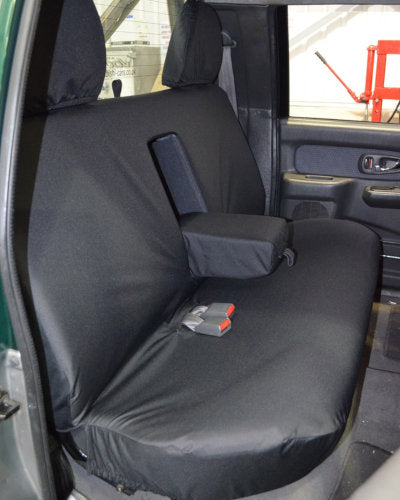 Rear Seat Cover in Black for L200 Pickup Truck (1996-2005)