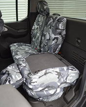 Load image into Gallery viewer, Navara D40 Rear Covers for Split Folding Seats