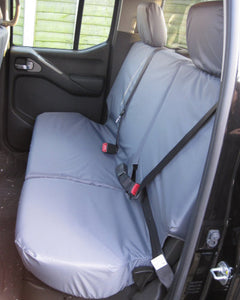 Navara D40 Tailored Rear Seat Covers - Grey