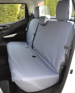 Tailored Grey Rear Seat Cover for Nissan Navara