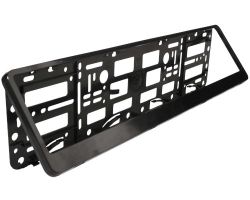 Black Number Plate Holder