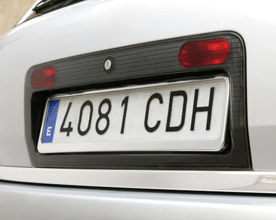 Chrome Number Plate Holder