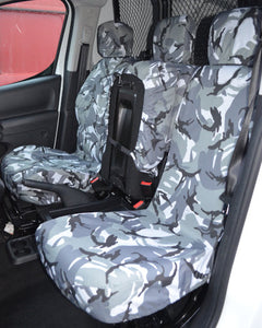 Peugeot Partner Camo Seat Covers