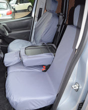 Load image into Gallery viewer, Grey Tailored Seat Covers - Peugeot Partner Van