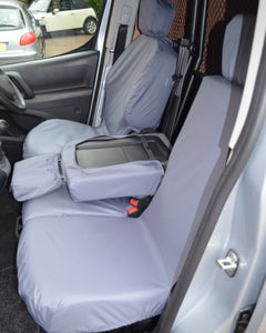 Grey Tailored Seat Covers - Peugeot Partner Van