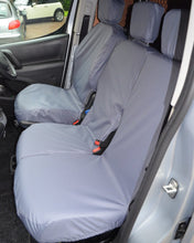 Load image into Gallery viewer, Vauxhall Combo Van Waterproof Grey Seat Covers
