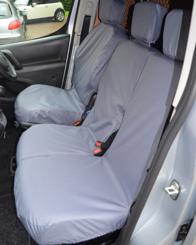 Citroen Berlingo Van Seat Covers - Grey