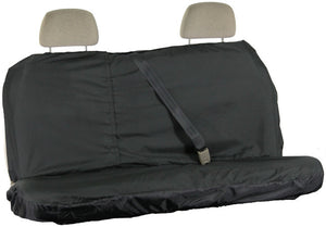 Waterproof Rear Seat Cover in Black