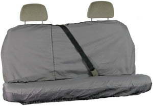 Grey Waterproof Rear Seat Cover