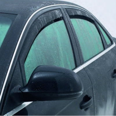 Mercedes-Benz C-Class Slimline Side Window Deflectors