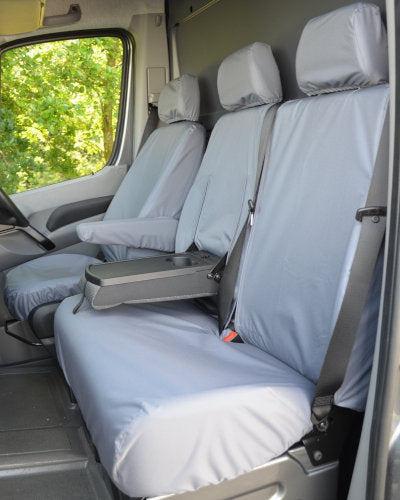 Sprinter Mk2 Waterproof Seat Covers - Dual Passenger