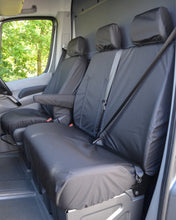 Load image into Gallery viewer, Sprinter Van Black Seat Covers