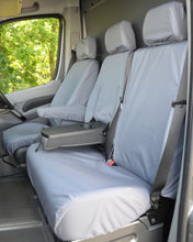 Load image into Gallery viewer, Sprinter Van Seat Covers - Grey Front