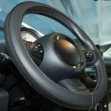 Load image into Gallery viewer, Steering Wheel Cover - Black