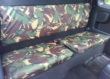 Load image into Gallery viewer, Toyota Hilux Extra Cab Seat Covers - Camouflage