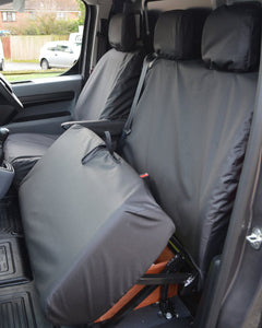 Tailored Van Dual Seat Cover for Toyota Proace