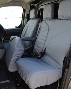 Toyota Proace Panel Van Grey Seat Cover