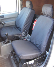 Load image into Gallery viewer, Ford Transit Connect Van Mk1 - Black Seat Covers