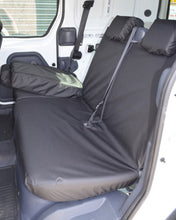 Load image into Gallery viewer, Ford Transit Connect Mk1 Van - Black Rear Seat Covers