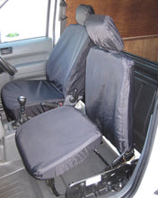 Load image into Gallery viewer, Ford Transit Connect Van Mk1 Front Seat Covers - Black