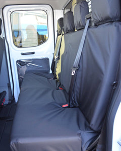 Ford Transit Double Cab Rear Quad Bench Seat Cover