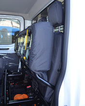 Load image into Gallery viewer, Ford Transit Rear Quad Bench Seat Cover in Black