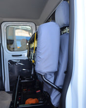 Load image into Gallery viewer, Ford Transit Tailored Rear Bench Seat Cover - Grey