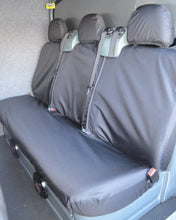 Load image into Gallery viewer, Ford Transit Van mk6 to mk7 - 2nd Row Black Seat Cover
