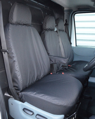 Ford Transit Van Mk6 and Mk7 Seat Covers - Black