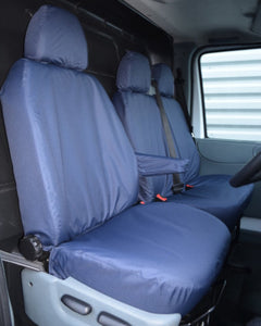 Ford Transit Van Mk6 to Mk7 Seat Covers - Blue