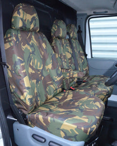 Ford Transit Van Mk6 to Mk7 Seat Covers - Camo Green