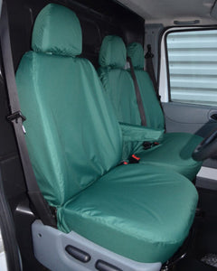 Ford Transit Van Mk6 and Mk7 Seat Covers - Green