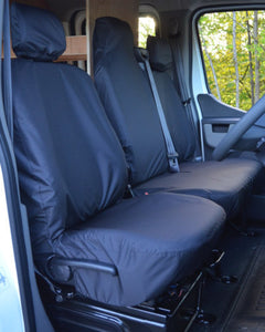 Vauxhall Movano Van Seat Covers in Black