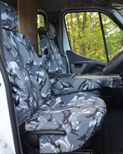 Load image into Gallery viewer, Camouflage Seat Covers for Vauxhall Movano Panel Van