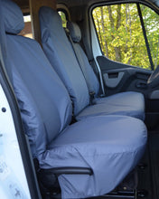 Load image into Gallery viewer, Vauxhall Movano Van Seat Covers in Grey
