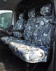 Vauxhall Movano Tailored Seat Covers