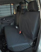 Load image into Gallery viewer, VW Amarok V6 Black Back Seat Cover