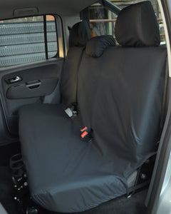 VW Amarok V6 Black Back Seat Cover