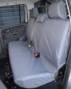 VW Amarok Grey Back Seat Cover