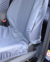 Load image into Gallery viewer, Tailored Waterproof Grey Front Seat Covers for VW Caddy