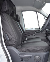 Load image into Gallery viewer, New VW Crafter Seat Covers - Black Drivers