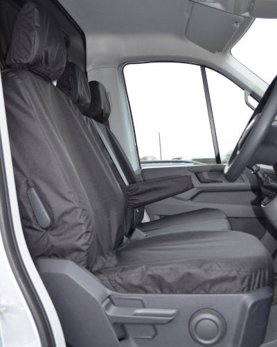 New VW Crafter Seat Covers - Black Drivers