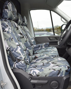 New VW Crafter Seat Covers - Camo Drivers