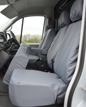 Load image into Gallery viewer, New VW Crafter Seat Covers - Grey Fold Forward